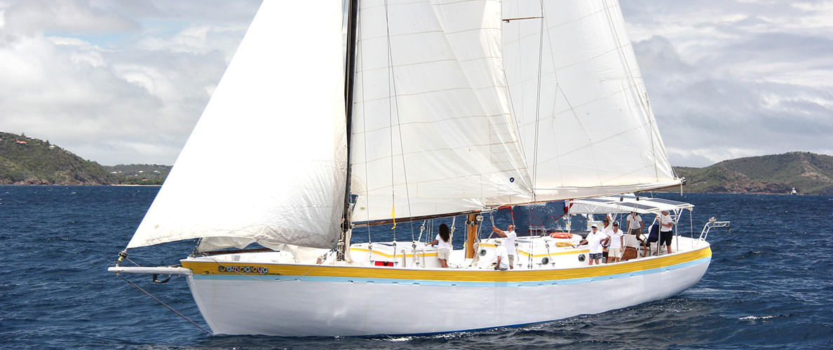 Caribbean Sailing Vacation—Traditional Schooner—Crewed Yacht